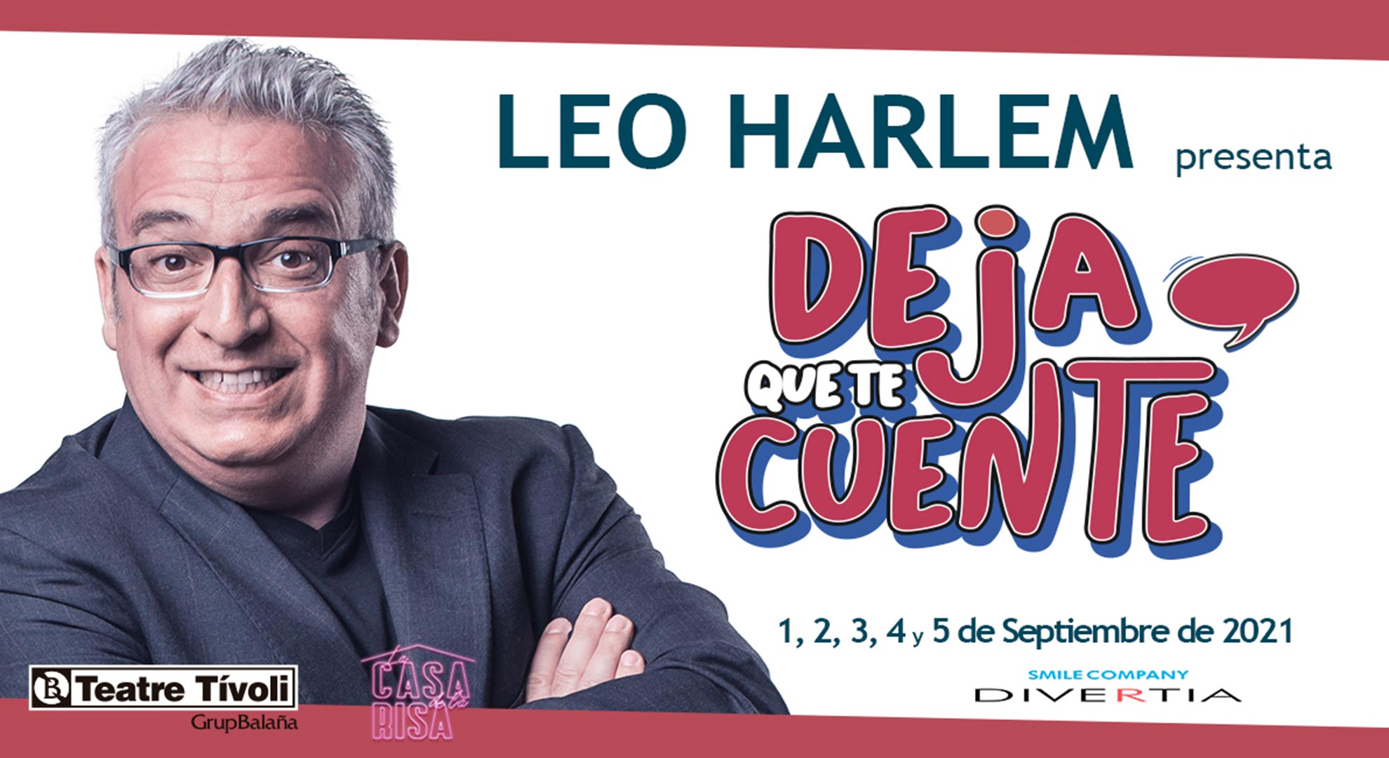 Leo Harlem: Deja que te cuente